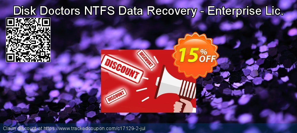 Claim 15% OFF Disk Doctors NTFS Data Recovery - Enterprise Lic. Coupon discount July, 2019