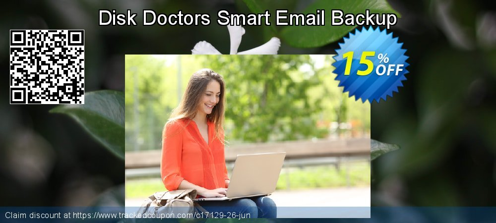 Get 15% OFF Disk Doctors Smart Email Backup offering sales