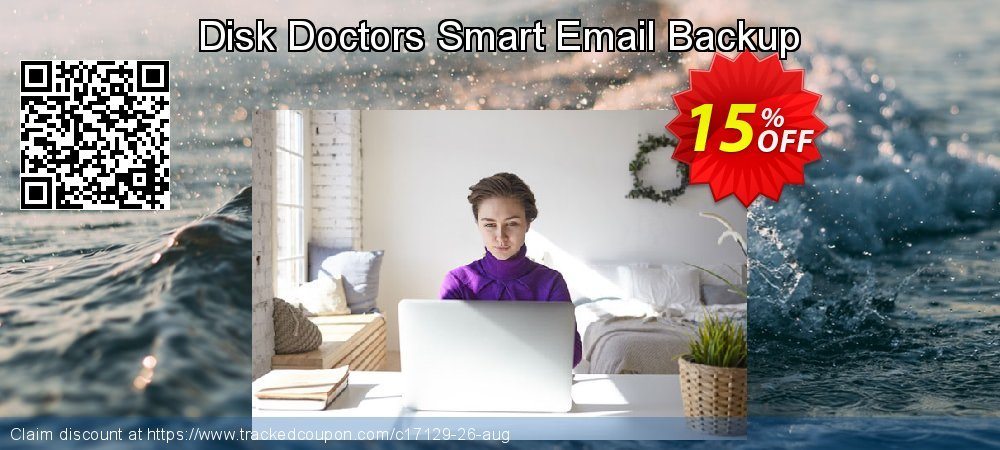 Get 15% OFF Disk Doctors Smart Email Backup offering discount