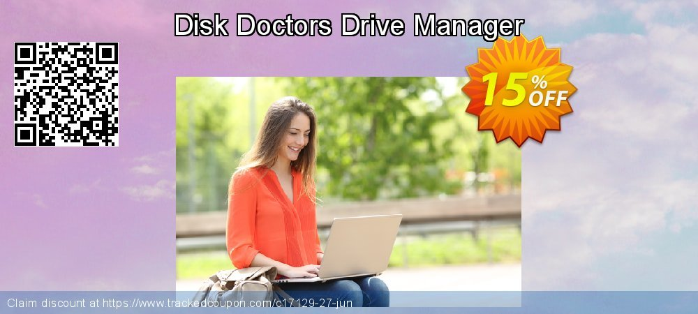 Get 15% OFF Disk Doctors Drive Manager promo