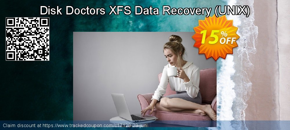 Get 15% OFF Disk Doctors XFS Data Recovery (UNIX) promo sales