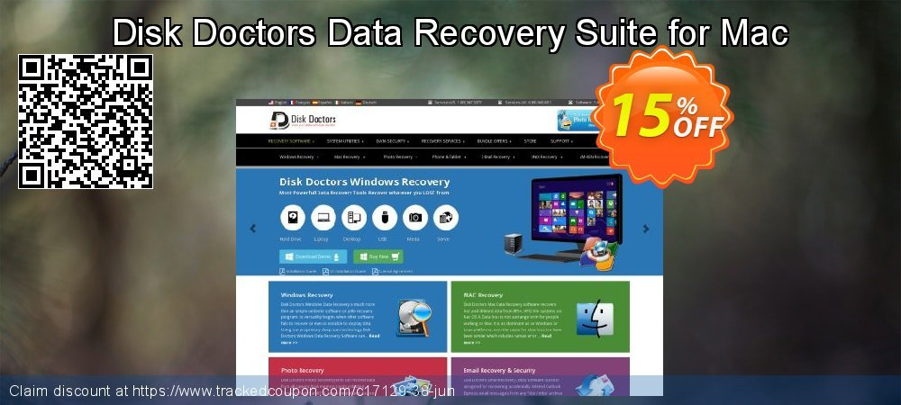 Get 15% OFF Disk Doctors Data Recovery Suite for Mac discounts