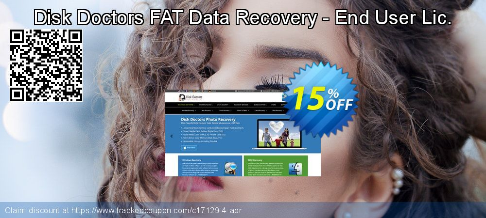 Claim 15% OFF Disk Doctors FAT Data Recovery - End User Lic. Coupon discount July, 2020