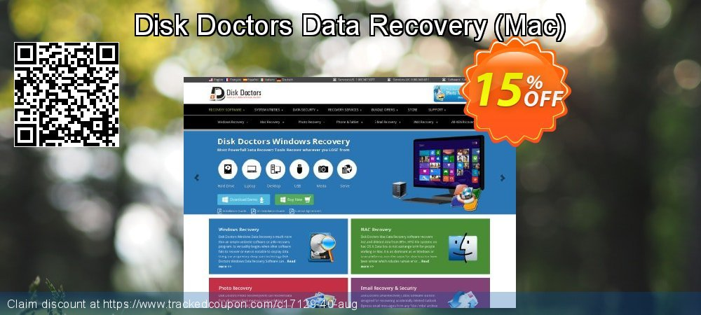 Disk Doctors Data Recovery (Mac) coupon on 4th of July offer