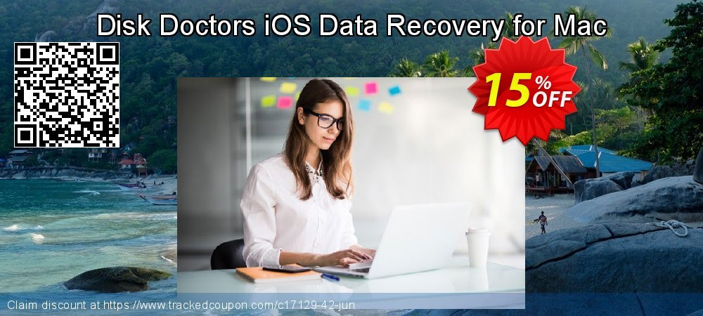 Get 15% OFF Disk Doctors iOS Data Recovery for Mac offering deals