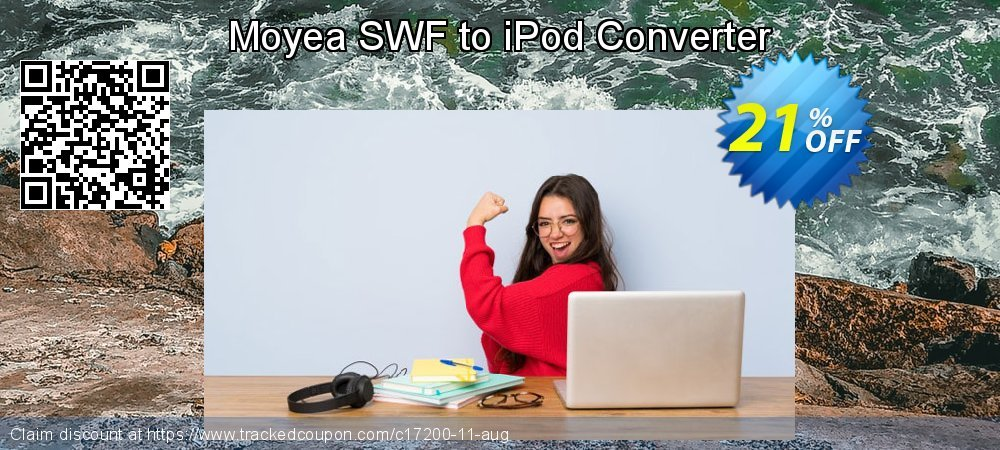 Moyea SWF to iPod Converter coupon on Halloween offer