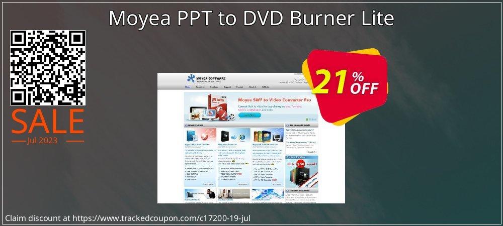 Moyea PPT to DVD Burner Lite coupon on Halloween deals