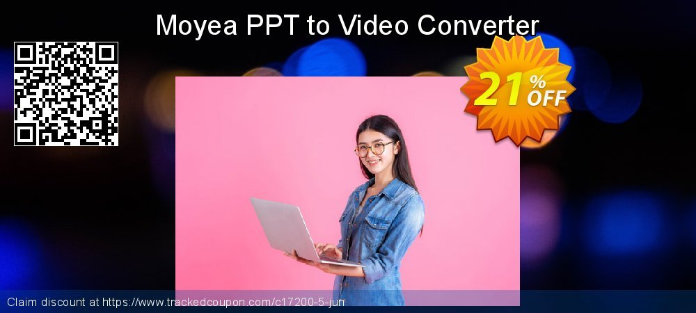 Moyea PPT to Video Converter coupon on Halloween offering sales