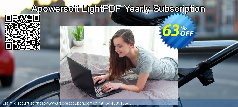 Get 30% OFF Apowersoft LightPDF Yearly Subscription offering sales