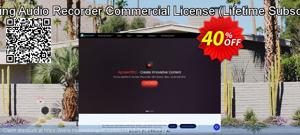 Streaming Audio Recorder Commercial License - Lifetime Subscription  coupon on Natl. Doctors' Day discount