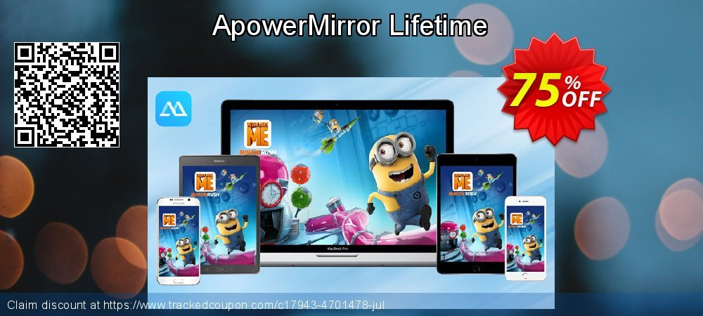 ApowerMirror Lifetime coupon on Read Across America Day offer