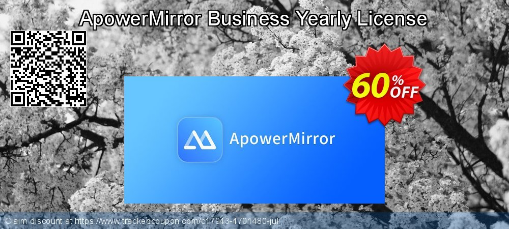 ApowerMirror Business Yearly coupon on  Lover's Day sales