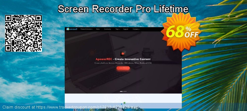 Get 57% OFF Screen Recorder Pro Lifetime offering sales