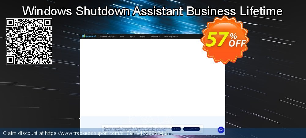 Get 57% OFF Windows Shutdown Assistant Business Lifetime offering deals