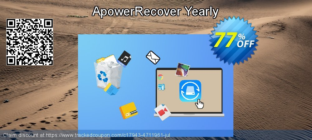 Claim 77% OFF ApowerRecover Yearly Coupon discount September, 2020