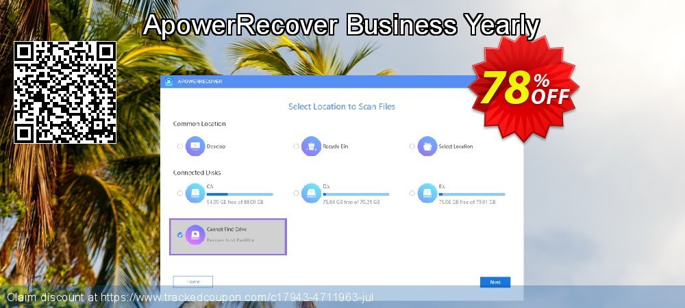 Claim 78% OFF ApowerRecover Business Yearly Coupon discount September, 2020