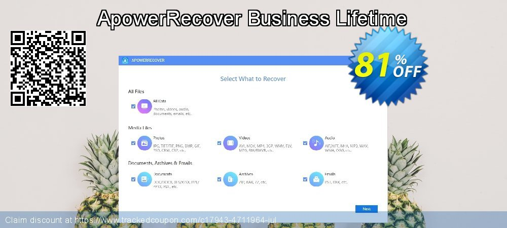 Claim 81% OFF ApowerRecover Business Lifetime Coupon discount September, 2020