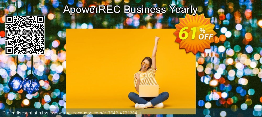 Get 53% OFF ApowerREC Business Yearly offering sales