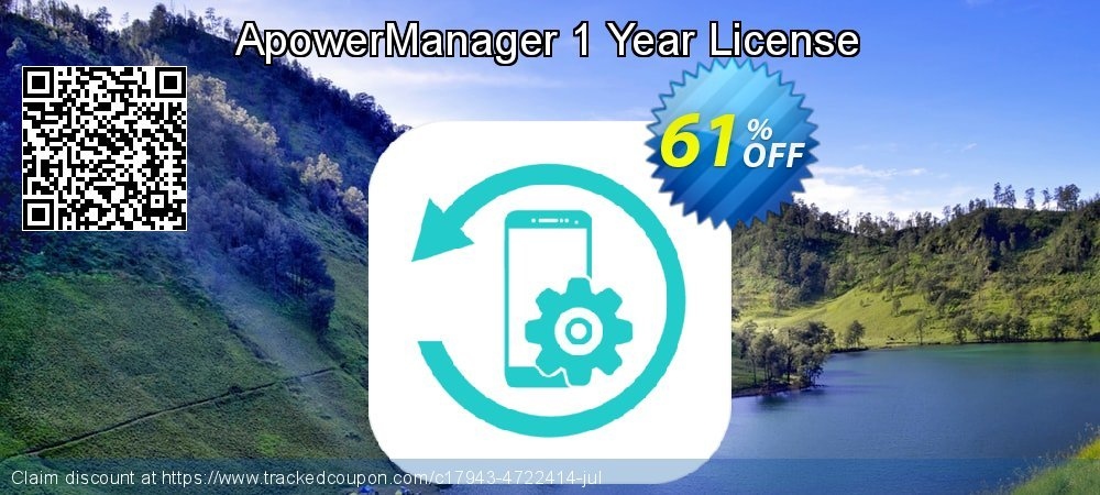 Get 53% OFF ApowerManager Yearly deals