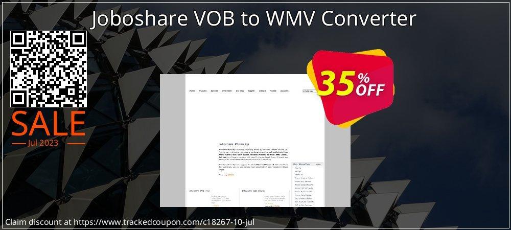 Get 35% OFF Joboshare VOB to WMV Converter discounts