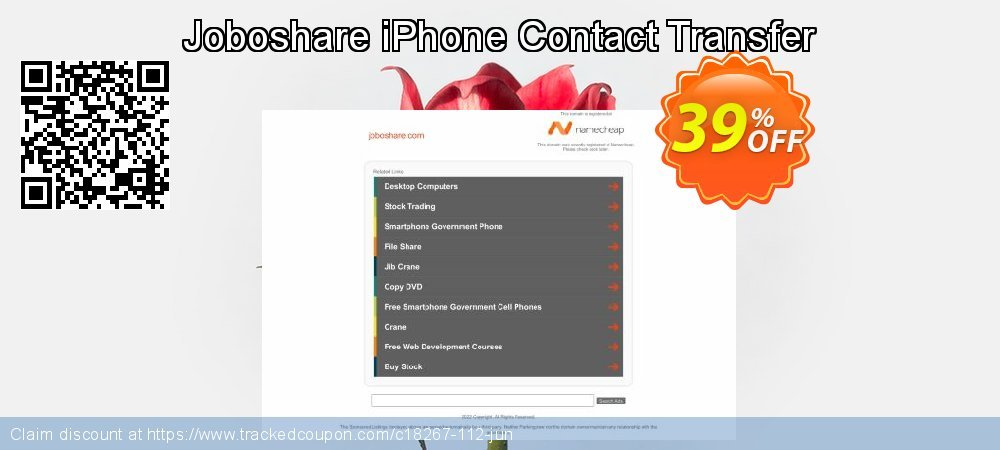Get 35% OFF Joboshare iPhone Contact Transfer discount