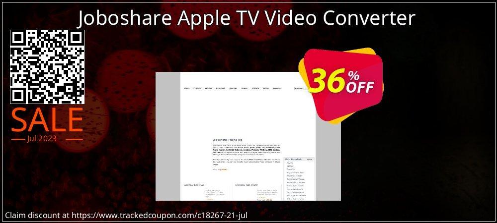 Get 35% OFF Joboshare Apple TV Video Converter offering sales