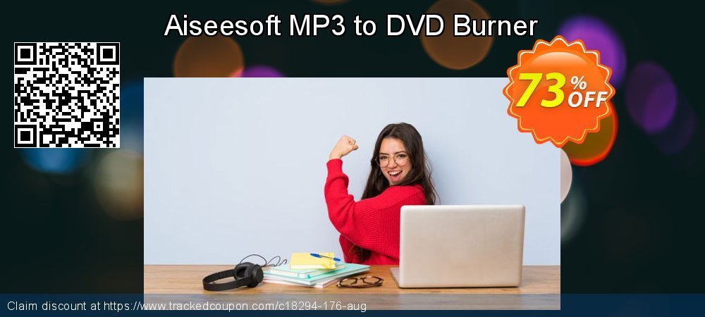 Get 40% OFF Aiseesoft MP3 to DVD Burner offering sales