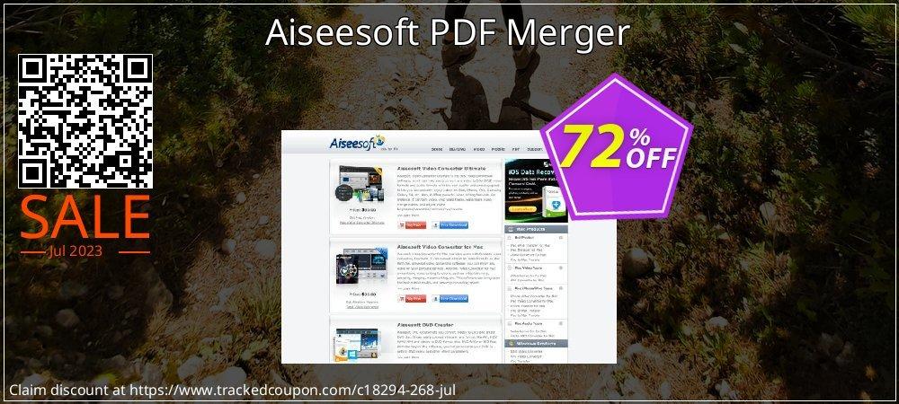 Get 50% OFF Aiseesoft PDF Merger offering sales