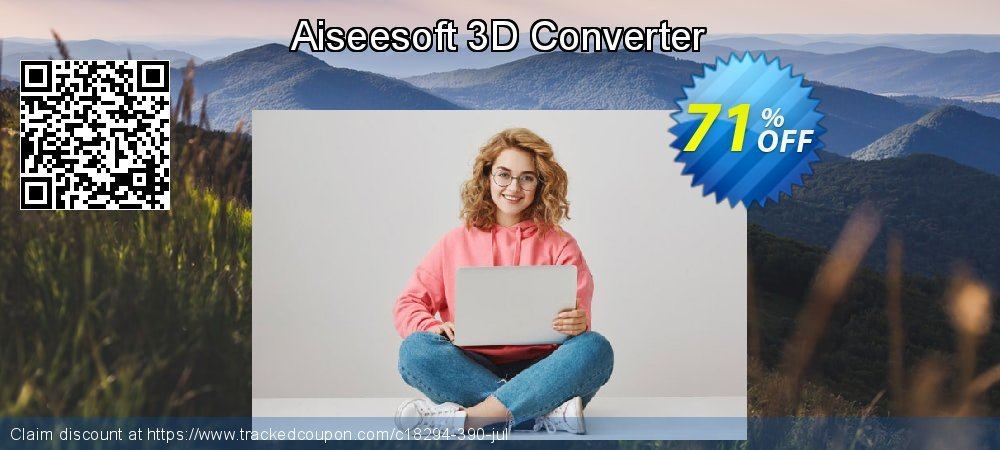 Get 40% OFF Aiseesoft 3D Converter offering sales