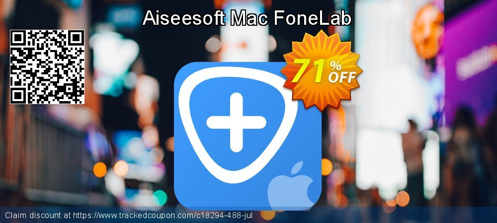 Claim 51% OFF Aiseesoft Mac FoneLab Coupon discount October, 2019