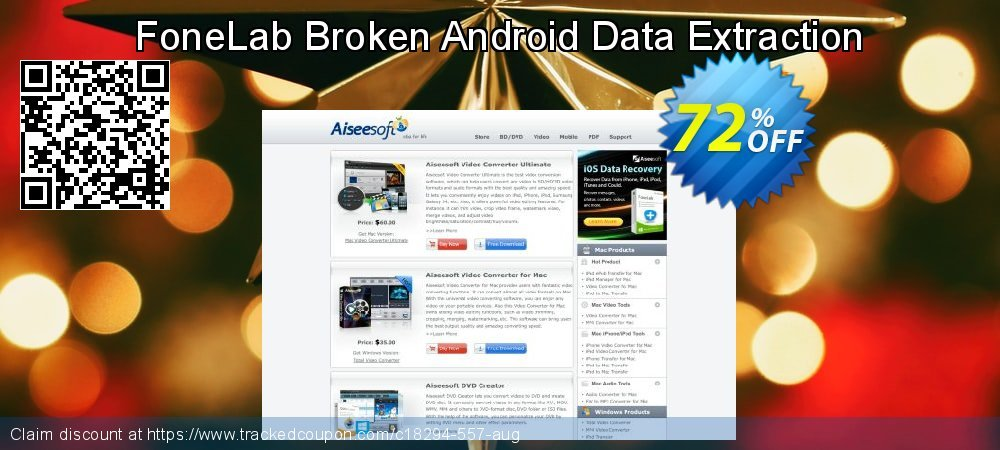 Get 70% OFF FoneLab Broken Android Data Extraction offering sales
