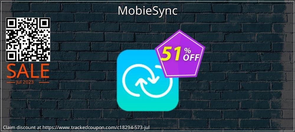 Get 50% OFF MobieSync promo sales