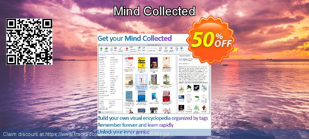 Mind Collected coupon on Autumn discount