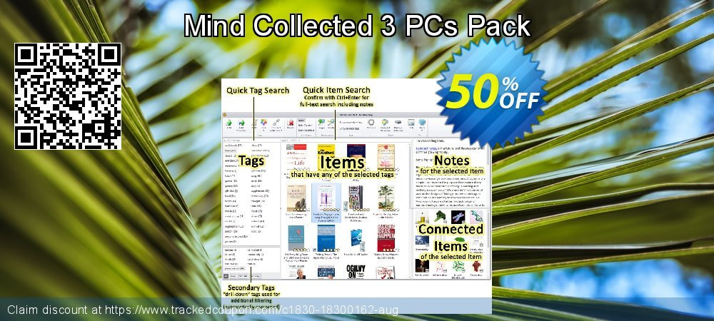Mind Collected 3 PCs Pack coupon on Native American Day offering discount