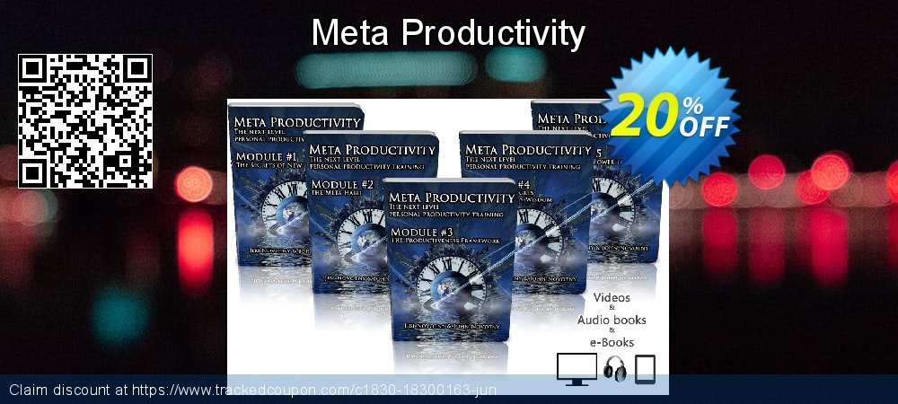 Meta Productivity coupon on Back to School offering sales