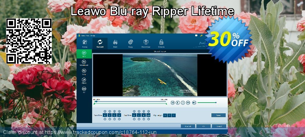 Leawo Blu-ray Ripper Lifetime coupon on Thanksgiving discount
