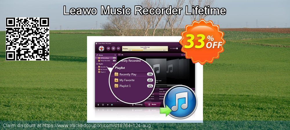 Leawo Music Recorder Lifetime coupon on April Fool's Day discounts