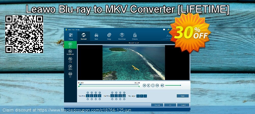 Leawo Blu-ray to MKV Converter [LIFETIME] coupon on Summer offer