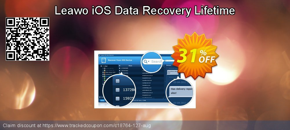 Leawo iOS Data Recovery Lifetime coupon on April Fool's Day deals