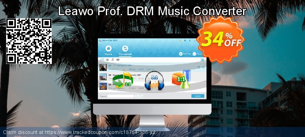 Leawo Prof. DRM Music Converter coupon on Mid-year deals