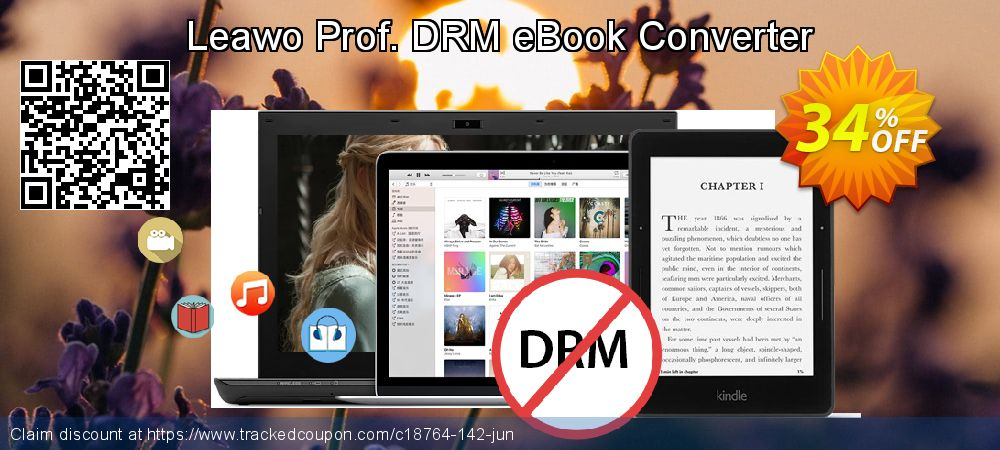 Get 30% OFF Leawo Prof. DRM eBook Converter offering sales