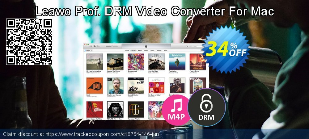 Leawo Prof. DRM Video Converter For Mac coupon on Happy New Year sales