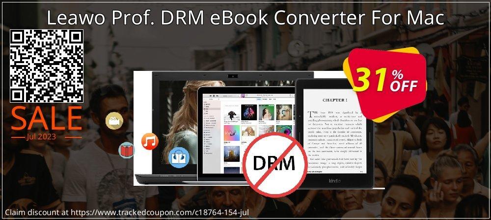 Get 30% OFF Leawo Prof. DRM eBook Converter For Mac offer
