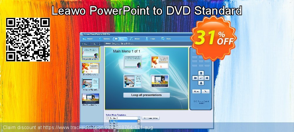 Get 30% OFF Leawo PowerPoint to DVD Standard promo sales