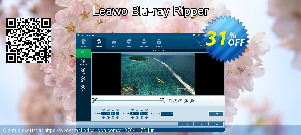 Leawo Blu-ray Ripper coupon on Back to School offer discounts