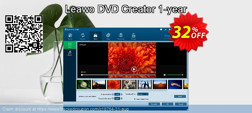 Get 30% OFF Leawo DVD Creator 1-year discounts