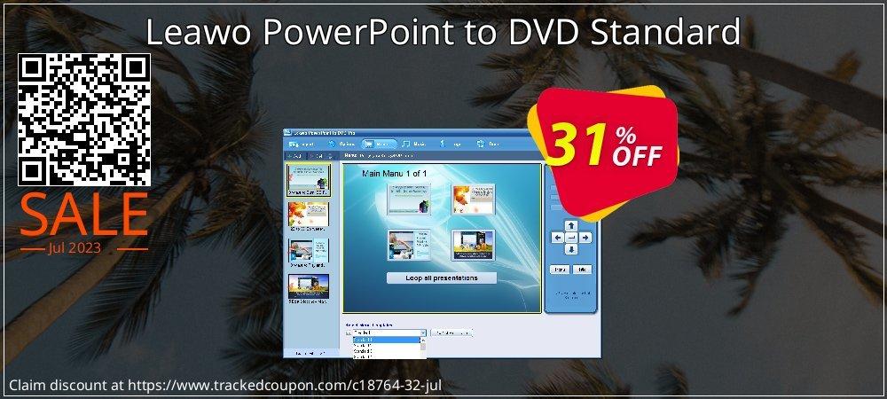 Get 30% OFF Leawo PowerPoint to DVD Standard offering sales