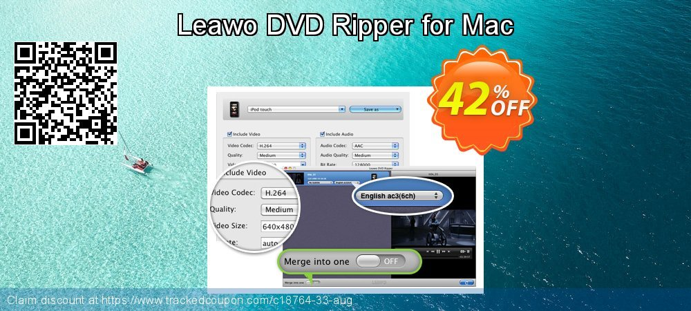 Get 40% OFF Leawo DVD Ripper for Mac promotions