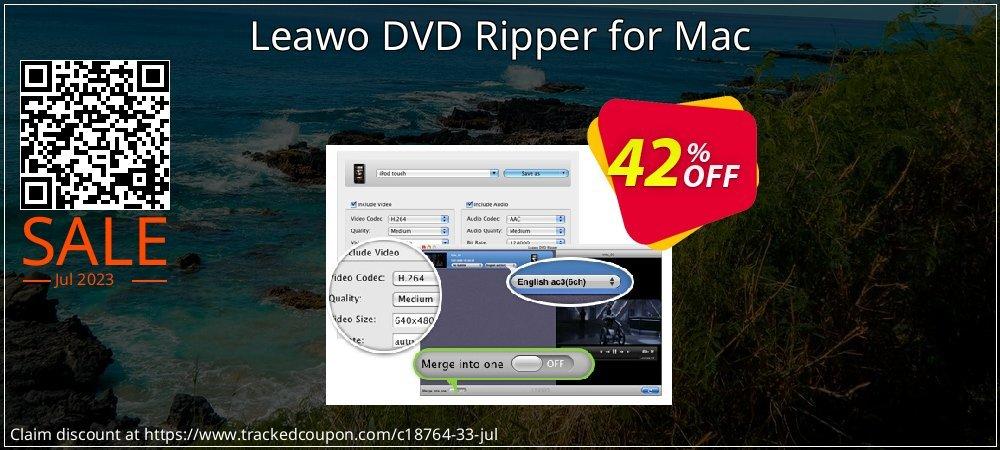 Get 40% OFF Leawo DVD Ripper for Mac sales