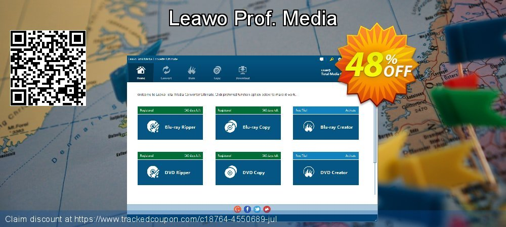 Leawo Prof. Media coupon on New Year's Day promotions